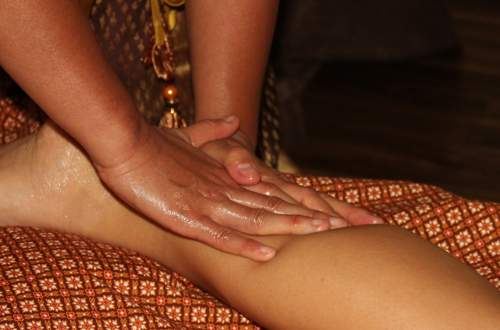 Thai Fuß-Massage