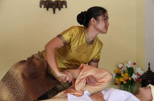Traditonelle Thai Massage